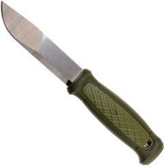 Mora Kansbol 12634 bushcraftmes met schede, groen