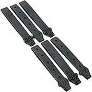 Maxpedition TacTie PJC5BLK Polymer Joining Clips AGR MOLLE-clips, 6 Stücke