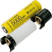 NiteCore 21700 Intelligent Battery System batteria, power bank e luce
