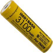 Nitecore IMR18650-accu voor de NiteCore TM28 (10A) 3100mAh