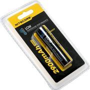 NiteCore NL1829LTP Low-Temp Accu 18650 Li-ion rechargeable par micro-USB, 2900mAh