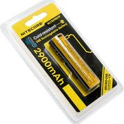 NiteCore NL1829RLTP Low-Temp Accu 18650 Li-ion rechargeable par micro-USB, 2900mAh
