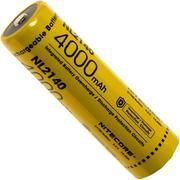 NiteCore NL2140 21700 Li-Ion-accu, 4000 mAh