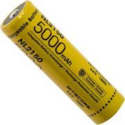 NiteCore NL2150 21700 Li-Ion-accu, 5000 mAh