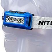 NiteCore NU10 lampe frontale légère rechargeable, bleu