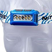 Nitecore NU10 CRI linterna frontal ligera recargable, azul