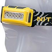 NiteCore NU10 ultraleichte aufladbare Stirnlampe, gelb