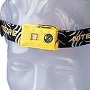 NiteCore NU25 LED-Stirnlampe, gelb