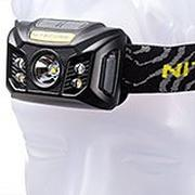 NiteCore NU30 rechargeable head torch, black