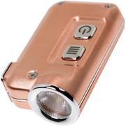 Nitecore TINI oplaadbare sleutelhangerzaklamp, koper