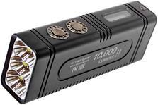 Nitecore TM10K rechargeable flashlight, 10.000 lumens