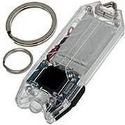 NiteCore Tube transparant, oplaadbare LED-sleutelhangerzaklamp