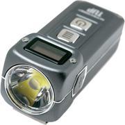 NiteCore TUP 1000 Lumen aufladbare Schlüsselbundlampe grau