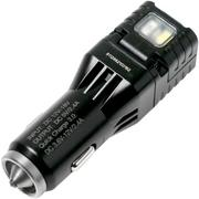 Nitecore VCL10 Quick Charge car charger with white/ red light and glass breaker