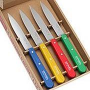 Opinel Set de 4 couteaux d'office N°112 Classiques