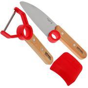 Opinel set de couteaux de cuisine 'Le petit chef'