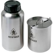 Pathfinder Bottle and Nesting Cup, 0.9 litre