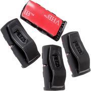 Petzl Uni Adapt clips auto-adhésifs pour lampes frontales Petzl