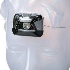 Petzl Zipka E093GA00 lampe frontale, noire