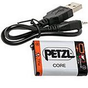 Petzl Core  accu avec cable E99ACA