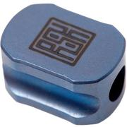 Real Steel Hexagon Lanyard Bead L1101, bleu