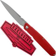 Real Steel G5 Metamorph Frontflipper 7845 Red G10 Knivesandtools Exclusive pocket knife