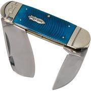 Rough Ryder Black & Blue Elephant Toe RR2113 pocket knife