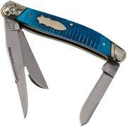 Rough Ryder Black & Blue Stockman RR2119 pocket knife