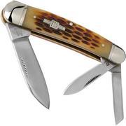 Rough Ryder Whittler Amber Bone RR375 slipjoint pocket knife