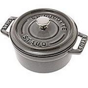 Mini cocotte Staub 10 cm, 0,25 l gris