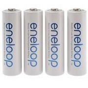 Panasonic/Sanyo Eneloop AA, 4 batterijen, 1900 mAh