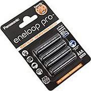Panasonic Eneloop Pro 4x Ni-MH AAA-batterijen, 930 mAh