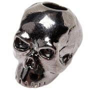 Schmuckatelli Classic Skull Bead Black Hematite