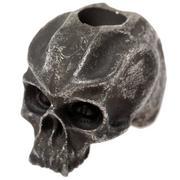 Schmuckatelli Cyber Skull Bead Black Oxidized