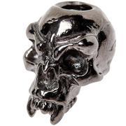 Schmuckatelli Fang Skull Bead Black Hematite