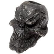Schmuckatelli Grins Skull Bead Black Oxidized