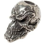 Schmuckatelli Grins Skull Bead Pewter