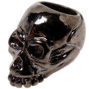Schmuckatelli Joe Skull abalorio 3/16 Hole Hematite
