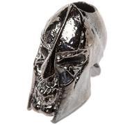 Schmuckatelli Spartan Skull Bead Hematite