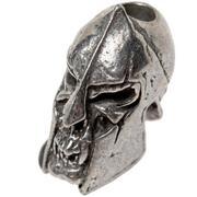 Schmuckatelli Spartan Skull Bead Pewter