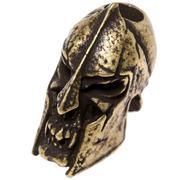 Schmuckatelli Spartan Skull Bead Roman Brass Oxidized