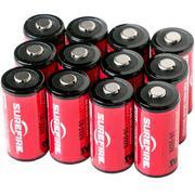SureFire CR123A batterijen, 12 stuks in een doosje