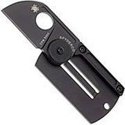 Spyderco Dog Tag Folder, black, C188ALTIBBK