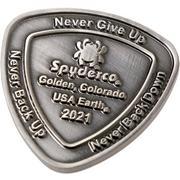Spyderco Spydercoin 2021 edition COIN2021