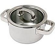Spring Finesse deep casserole with lid 16 cm, 2,0L