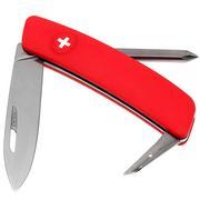 Swiza D02 Zwitsers zakmes, rood