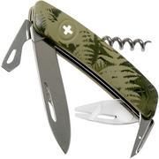 Swiza TT03 Tick Tool, Schweizer Taschenmesser mit Zeckenwerkzeug, kaki