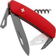 Swiza TT03 Tick Tool, Schweizer Taschenmesser mit Zeckenwerkzeug, rot