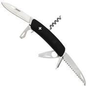 Swiza TT05 Tick Tool, Schweizer Taschenmesser mit Zeckenwerkzeug, schwarz