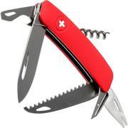 Swiza TT05 Tick Tool, Schweizer Taschenmesser mit Zeckenwerkzeug, rot